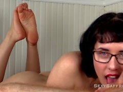 Wrinkled Sole Sensual Cocksucking