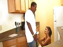 Neela Sky is a skinny young brunette bimbo who gets boinked by black dick