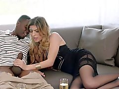 Маскироваться Арабские девушка любит БиБиСи и получает глубокую сперма в жопе