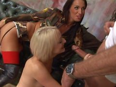 Paige Fox & Tammi Lee in an MMFF scene