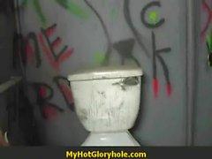 Fun at the glory hole 1
