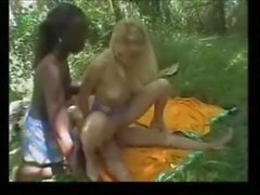 French interracial threesome