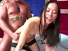 Skinny filipina takes messy facial after squirting