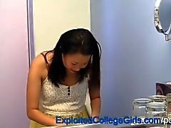 Pregnant Asian Teen Creampie