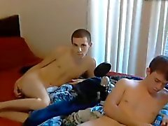 Cute Boys With Big Cocks Eat Each Other Ass, Blowjobs On Cam
