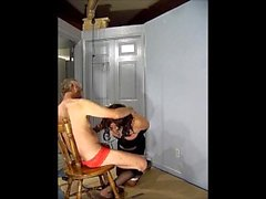 Sucking cock and getting tortured