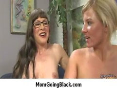 Milf gets huge black cock in her pussy 24
