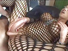 Camilla Jolie in body stocking