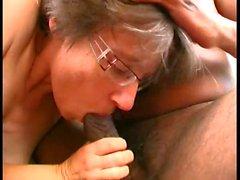 shot hair granny big cock sex