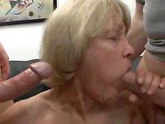 Completely Slutty Granny Likes To Consider Jizz And Youthfu