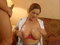 Busty Cougar Seduces Young Guy By TROC