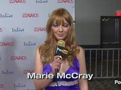 PornhubTV - Weirdest Masturbation Fantasy? Red Carpet AVN Awards 2014