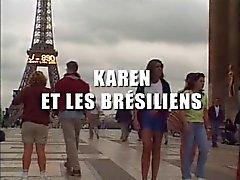 Карен Ланком - анал ла bresilienne