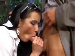 Mutual fuck with a TS schoolgirl