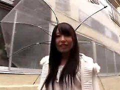 Aasialainen japanilainen teini sukat blowjob
