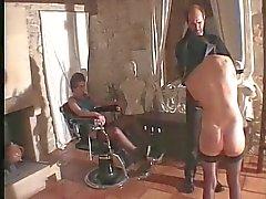 Båda franska slafvar fisted PART1