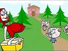 Rotkäppchen xxx Karikatur