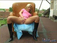 Jana loves to masturbate