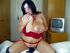 Big Tits Simone Giving HJ & BJ