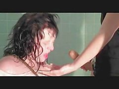 BBW Lesbian Shower Submission
