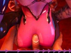 [HMV] [COCK HERO] Throbbin & Jobbin 3: Butts R Bobbin [3D]