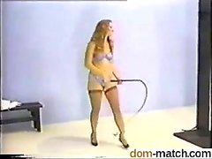 She is on dom-match - Stretching Striking Stroking