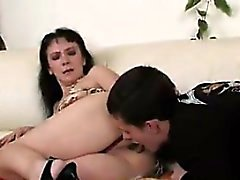 Russian Mother Fucked By A Young Lover