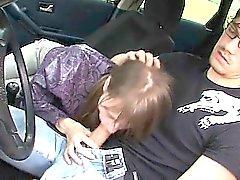 18yo serbian girl fucked on the car