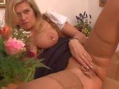 Marina Montana German Big Saggy Tits DP Anal Stockings