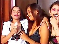 indian lesbians show off and mast