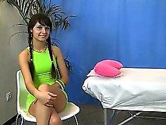 Hot lingerie massage girl rubbed
