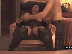 Fisting squirt slave Dorine