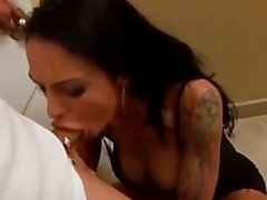 Angela Valentine has cock fever for a blowbang