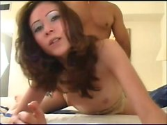 Petite young Latina has a tight hairy slit needing to be drilled hard