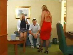 Josephine James Helping a Couple Out