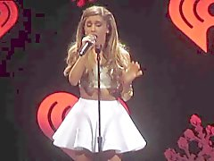 Ariana Grande - Short Skirt Concert Footage