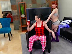 BFFS - Slutty Bestfriends Have A Pajama Party Orgy