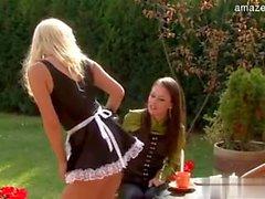 maid Lesbian Pissing