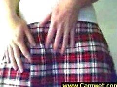 Horny Dildo Insertion