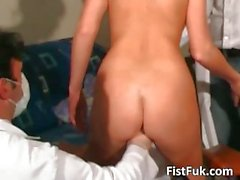Watch these two kinky doctors & blonde MILF