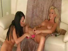 Alektra Blue And Nikki Benz Lesbian Matrix