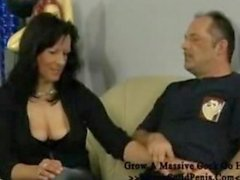 Delivery boy fucked by MILF