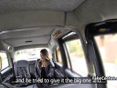 Taxi driver enjoyed foot jerking