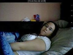 wife mastrubate on spycam part 2