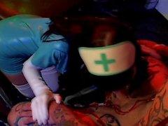punk rock Beauté de Rachel putréfié titre d'infirmière à remous