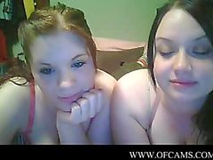 2 девушки веб-камера Барбары винтами веревок ха