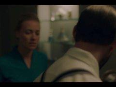 Elizabeth Moss. Yvonne Strahovski The Handmaid's Tail e1-e5