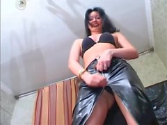 Two mistress dominate guy