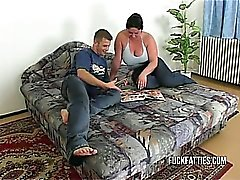 Lovely Fat BBW Slut Getting Fucked By Her BF