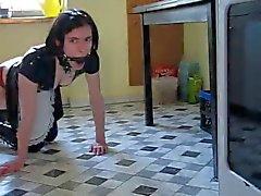 a Dream dienstmeisje in het werk